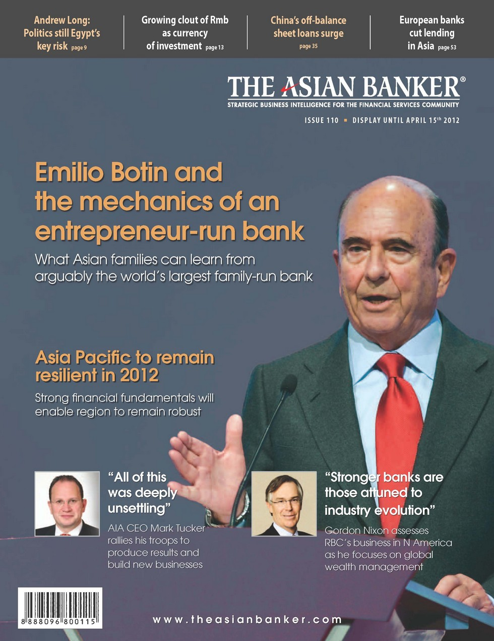 The Asian Banker Publication online - view all | The Asian Banker