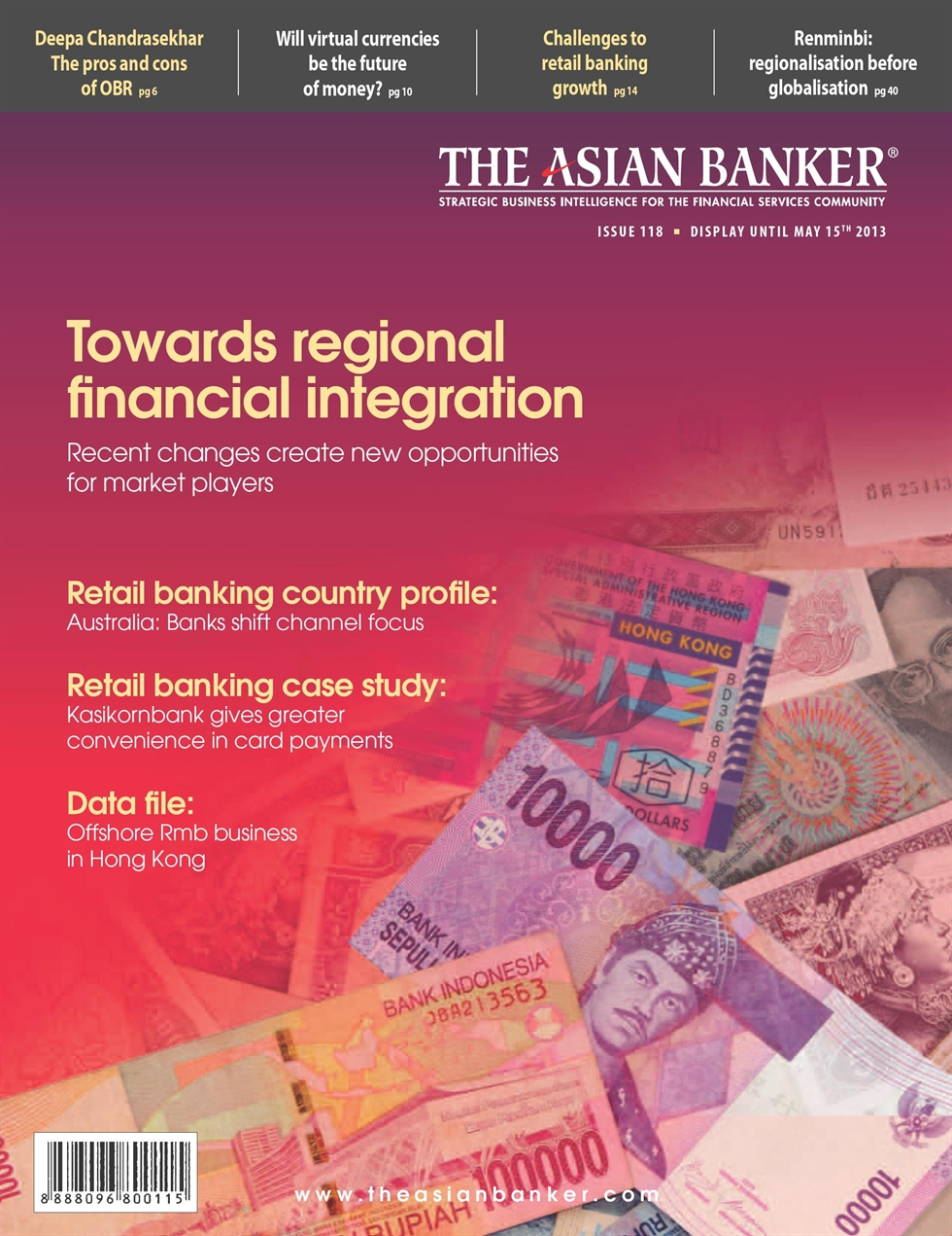 Issue 118: Towards regional financial integration